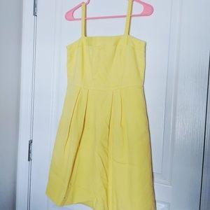 Loft yellow dress, NWT, 2